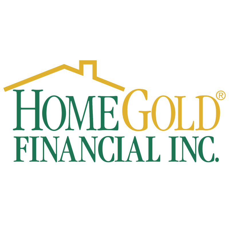HomeGold Financial vector logo