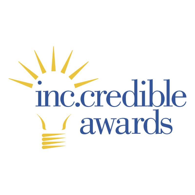 Inc Credible Awards vector logo