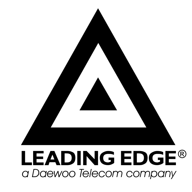 Leading Edge vector logo