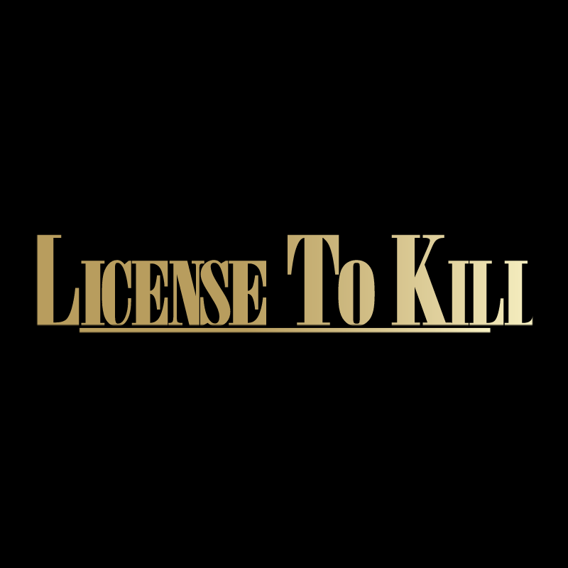 License To Kill logo