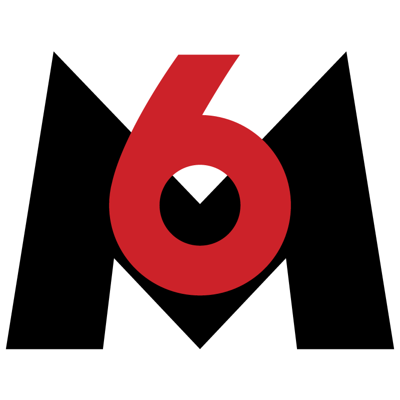M6 TV vector logo