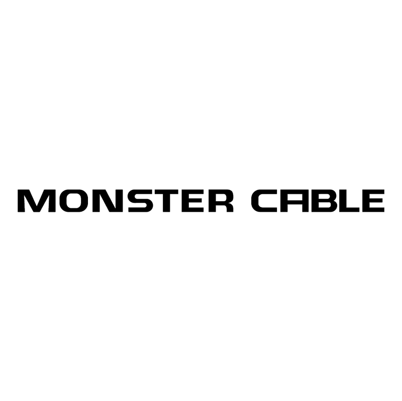 Monster Cable vector