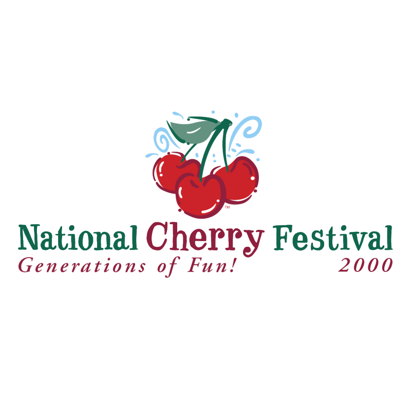National Cherry Festival logo