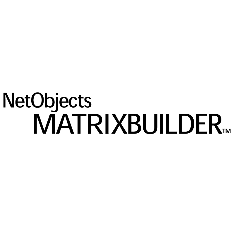 NetObjects MatrixBuilder vector logo