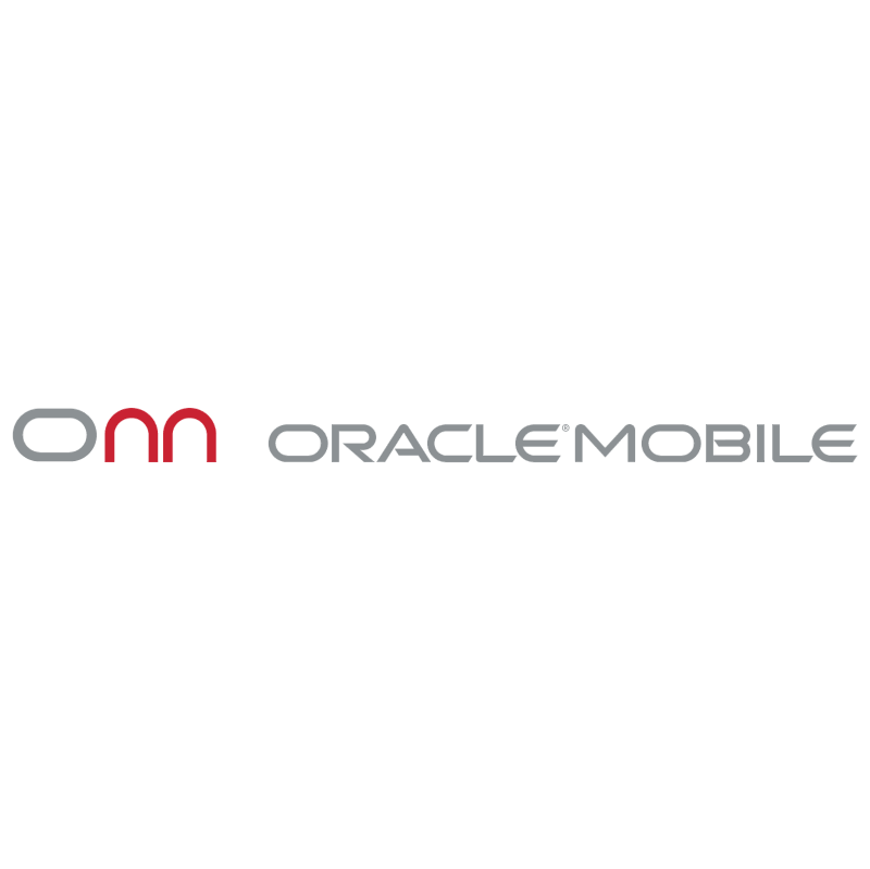 Oracle Mobile vector logo
