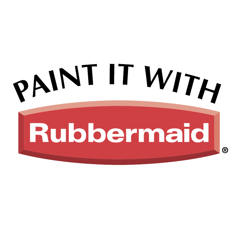 Paint It With Rubbermaid logo