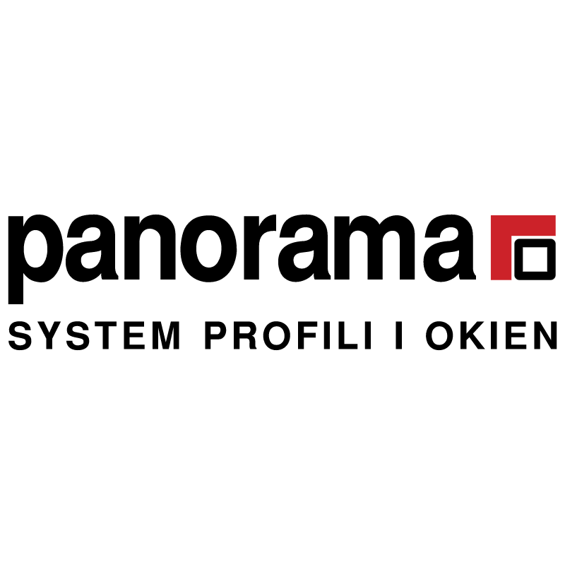 Panorama vector logo