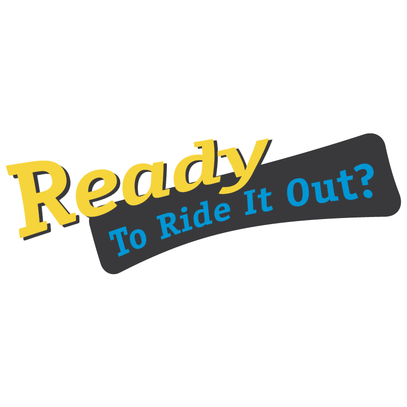 Ready To Ride It Out logo