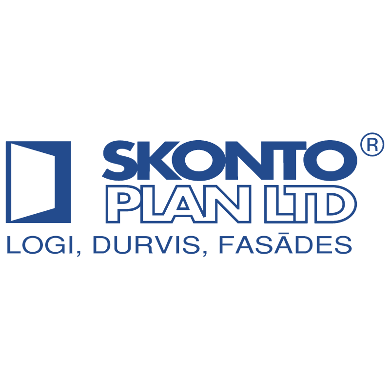 Skonto Plan vector