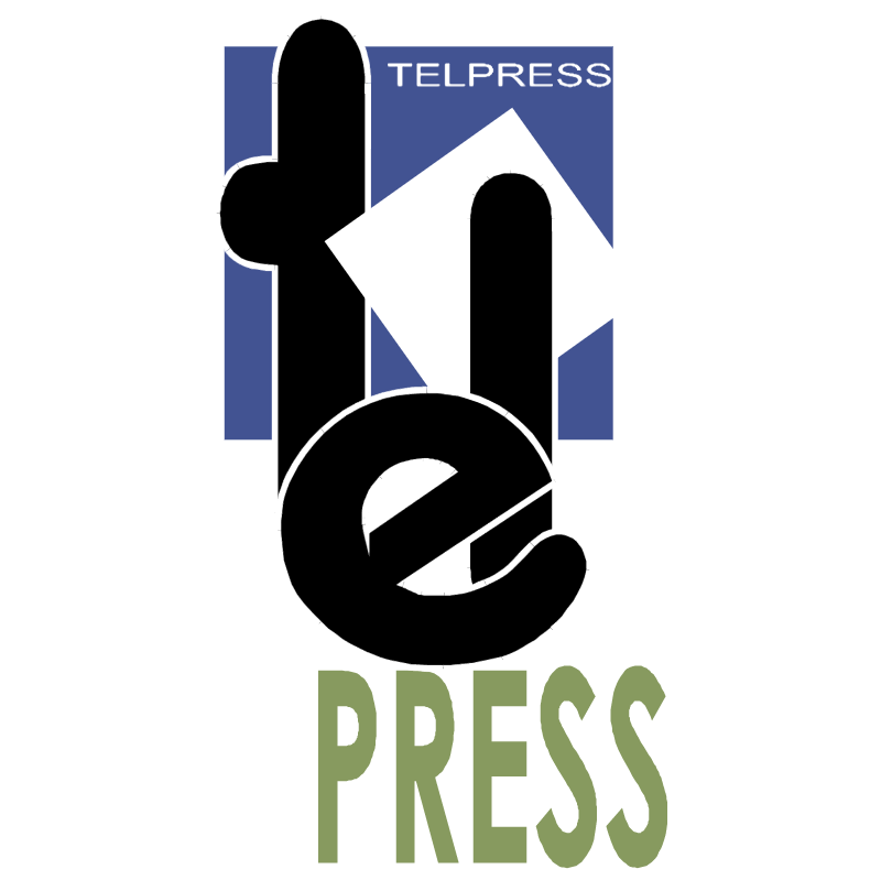TelPress vector logo