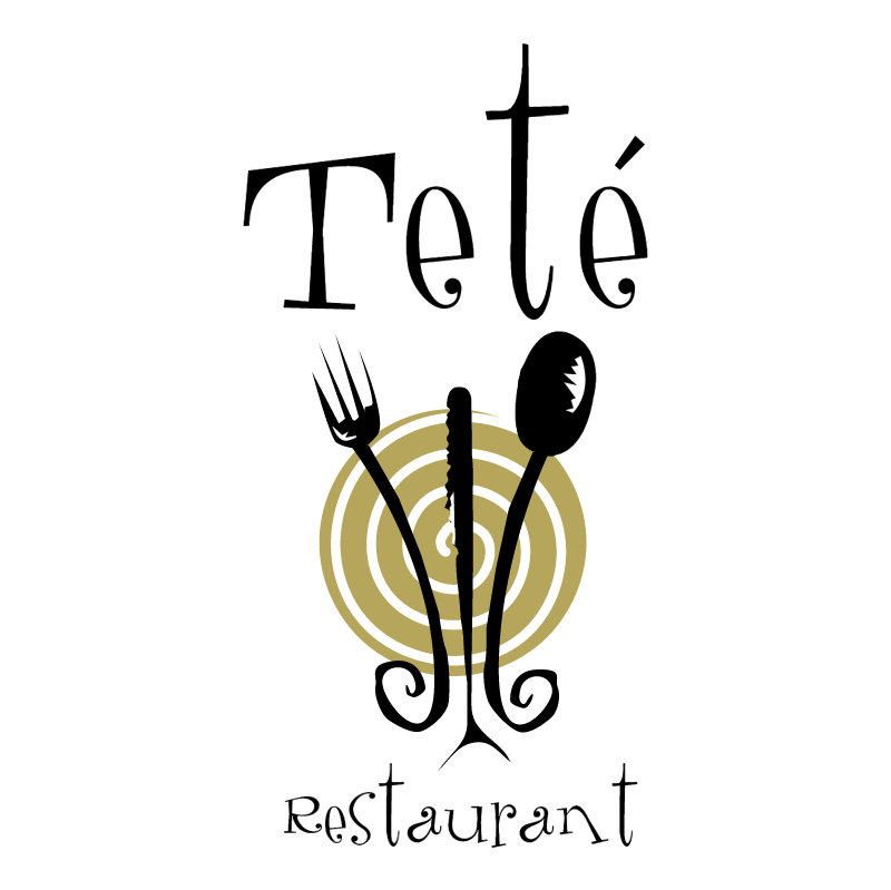 Tete Restaurant vector