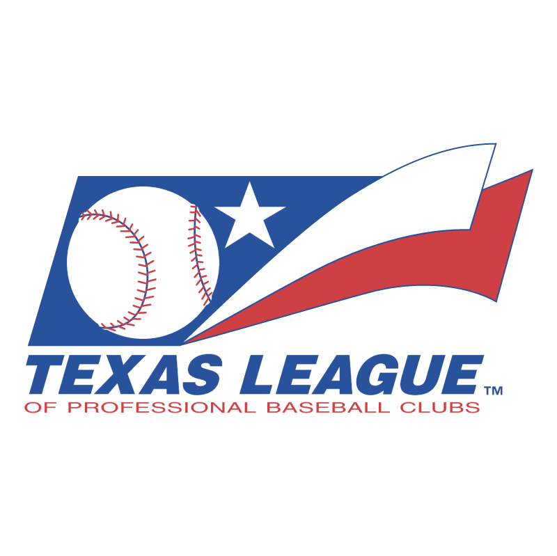 Texas League vector logo
