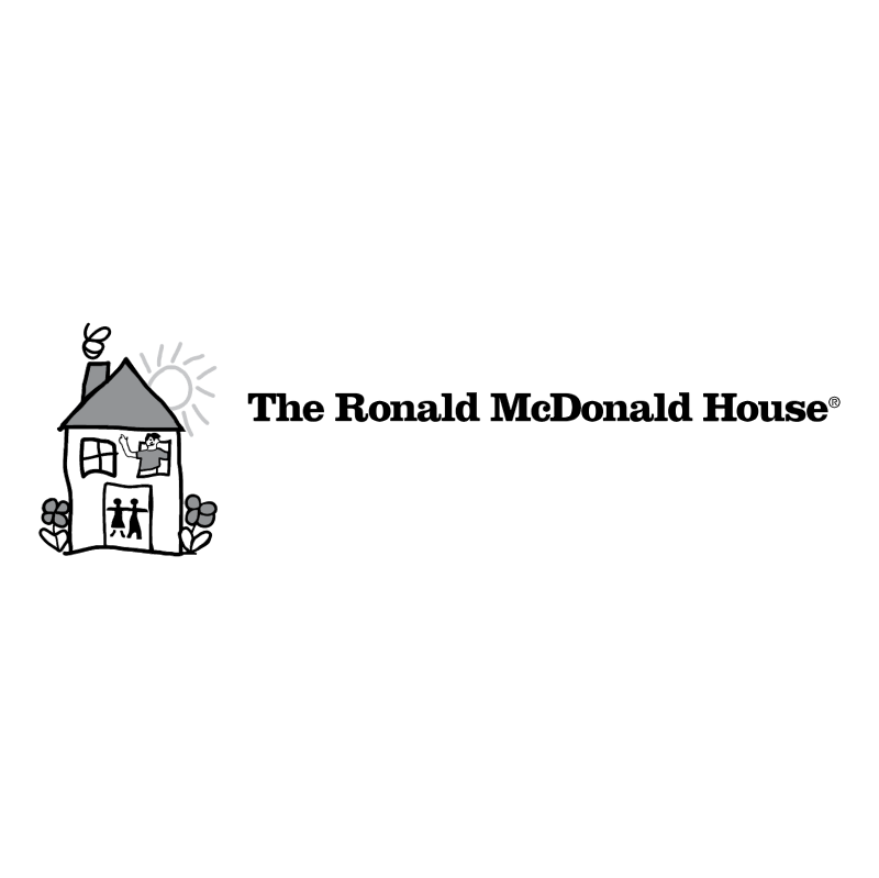 The Ronald McDonald House vector