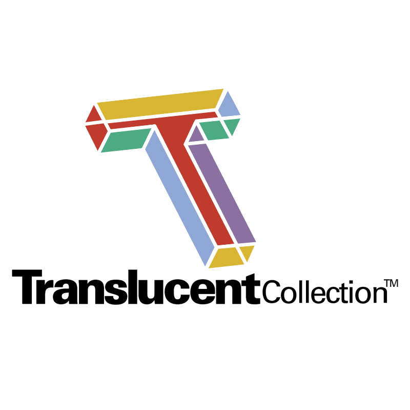 Translucent Collection vector logo