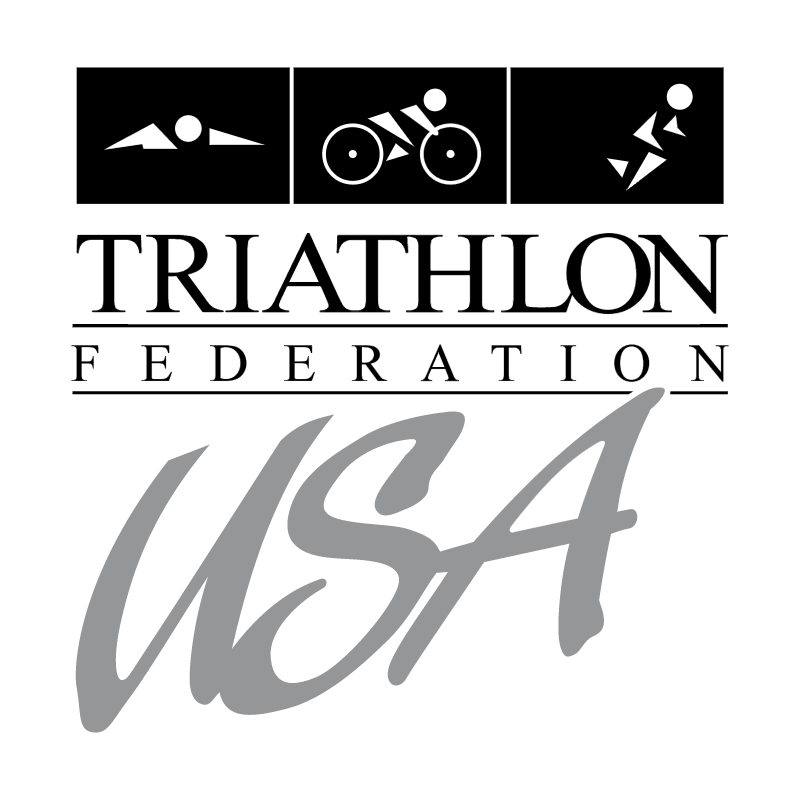 Triathlon Federation USA vector
