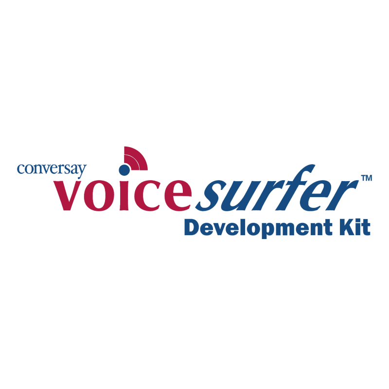 Voice Surfer vector logo
