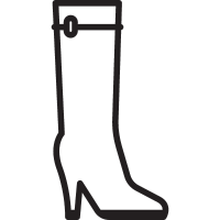 Women High Boot vector