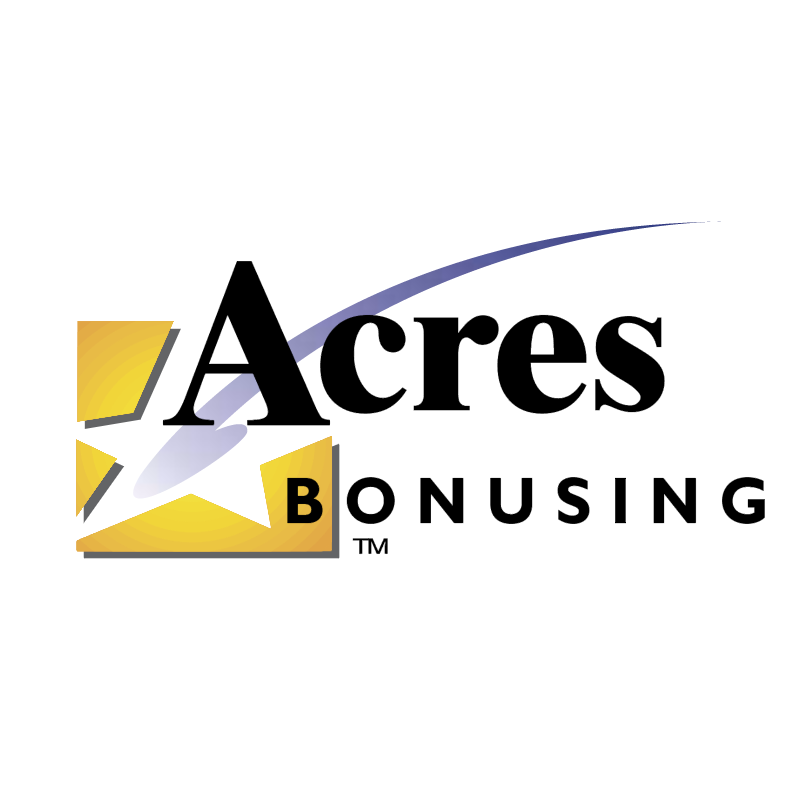 Acres Bonusing 45252 vector