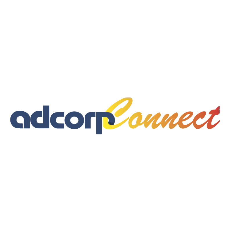 Adcorp Connect vector logo
