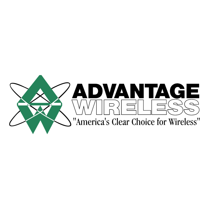 Advantage Wireless vector logo