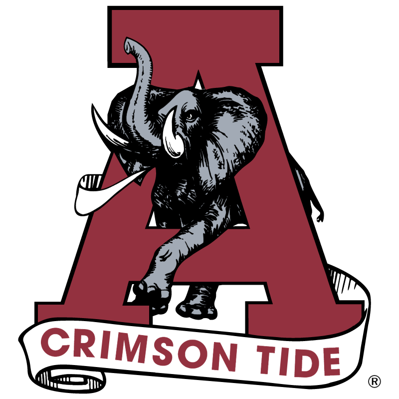 Alabama Crimson Tide 20473 vector