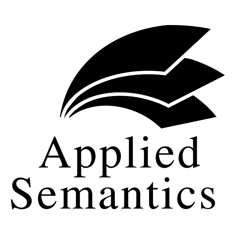 Applied Semantics 35783 vector logo