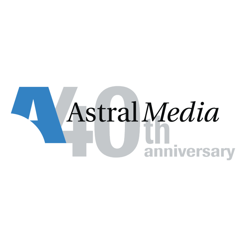 Astral Media vector logo