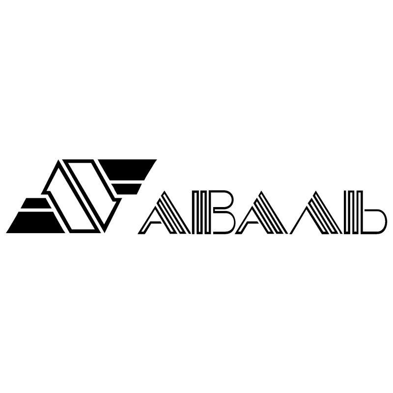 Aval Bank vector