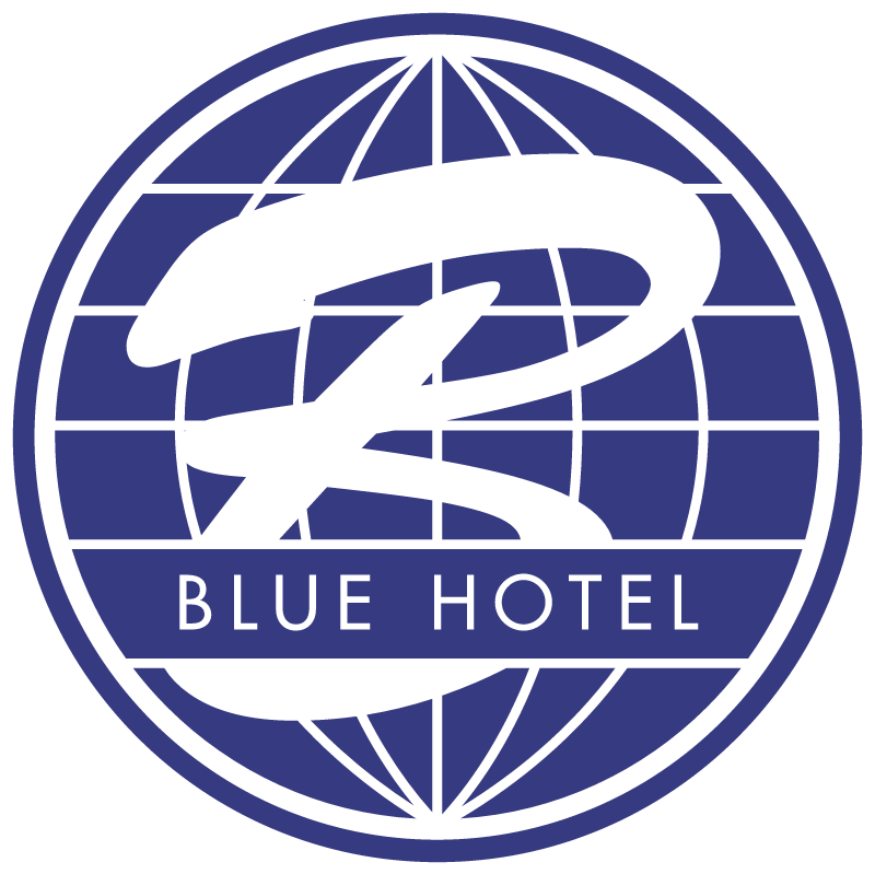 Blue Hotel vector