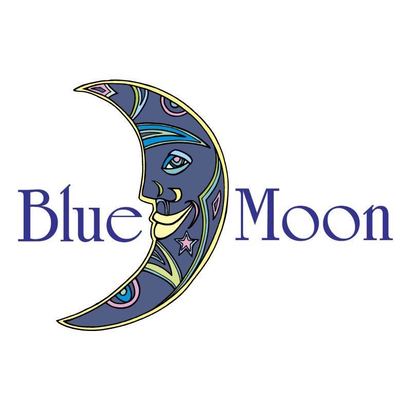 Blue Moon 79884 vector