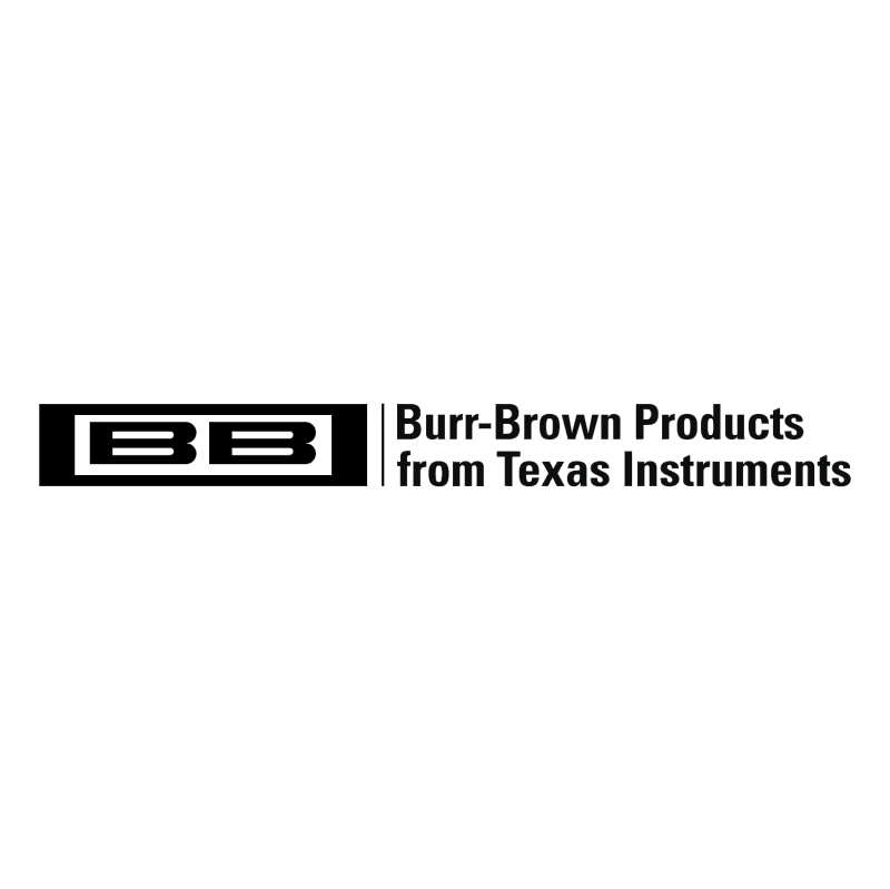 Burr Brown Products vector logo