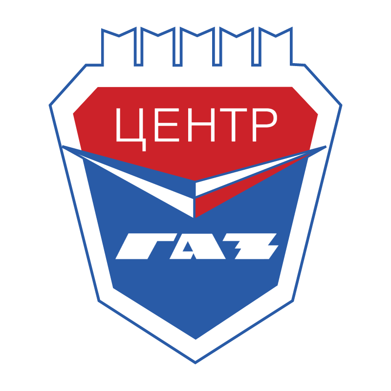 Center GAZ vector logo