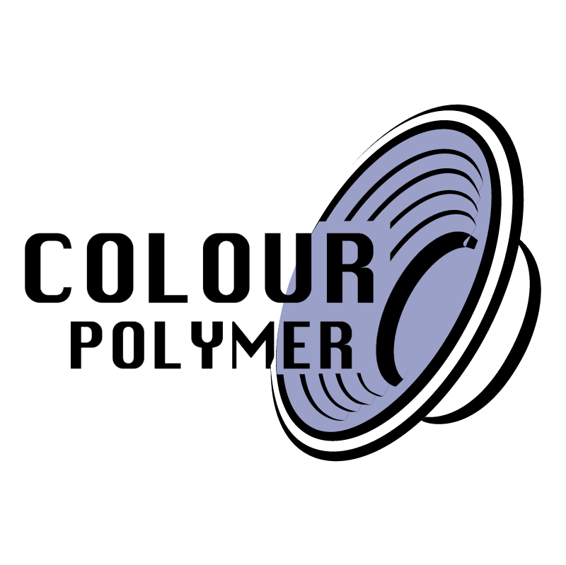 Colour Polymer vector logo