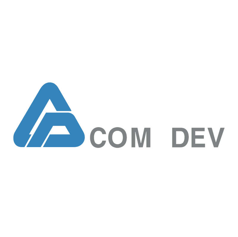 COM DEV vector logo