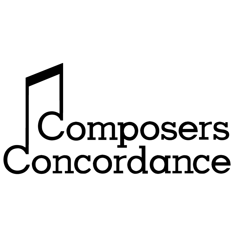 Composers Concordance vector