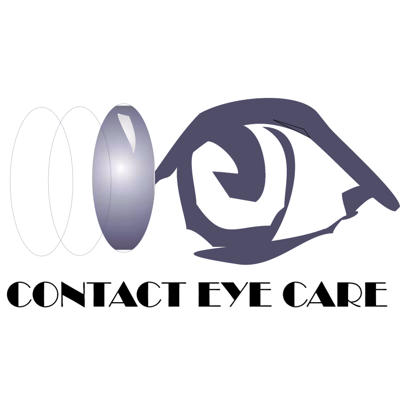 Contact Eye Care vector