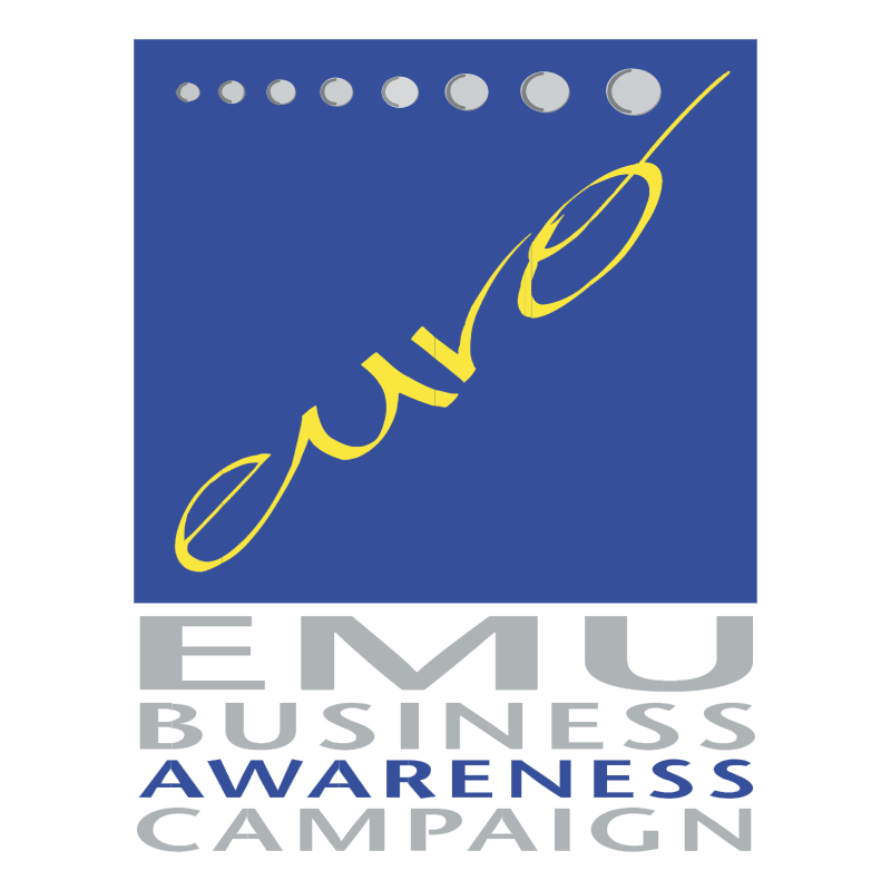 EMU Business Awareness Campaign vector logo