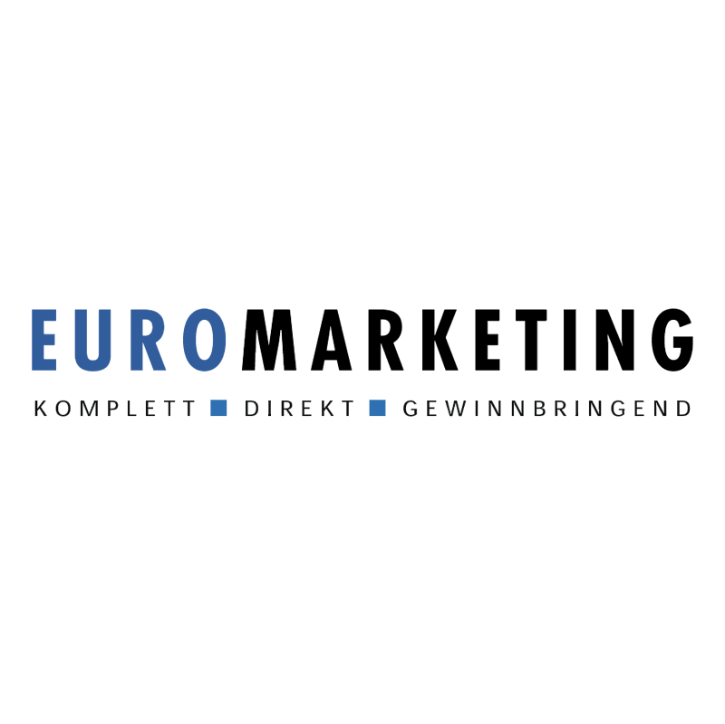 EuroMarketing vector