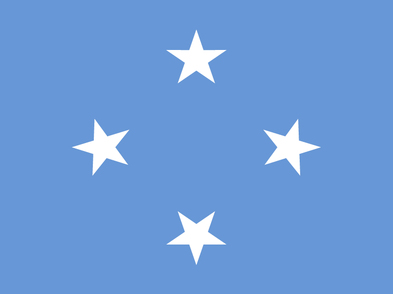 Flag of Federated States of Micronesia logo