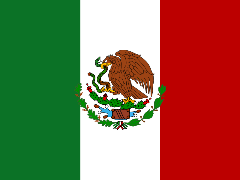 Flag of Mexico logo