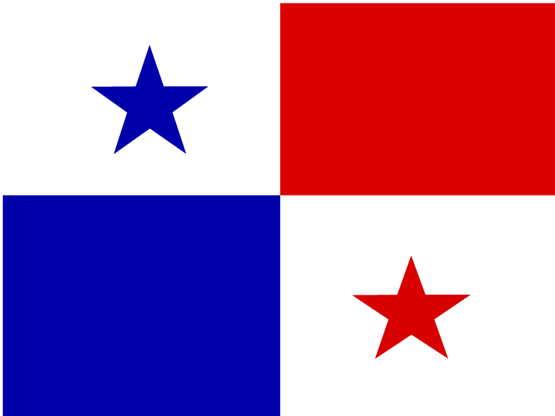 Flag of Panama logo