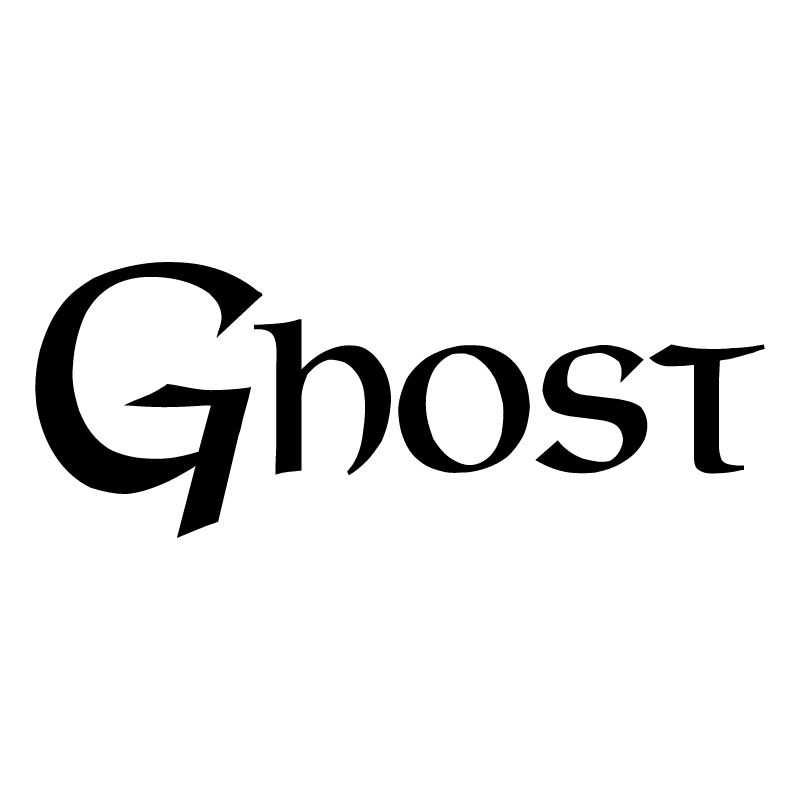 Ghost vector logo