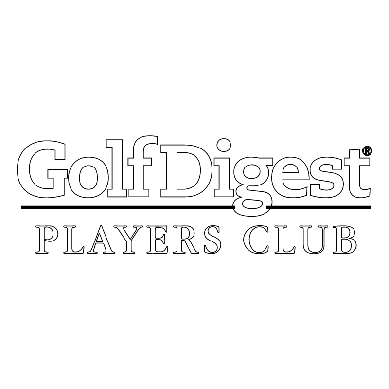 Golf Digest vector