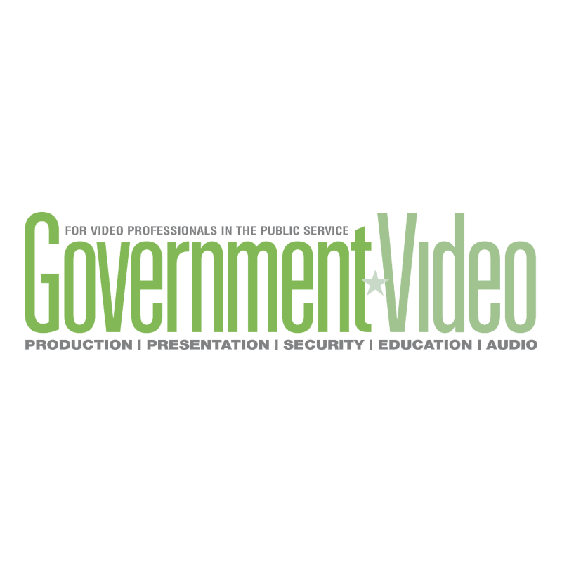 Government Video vector logo