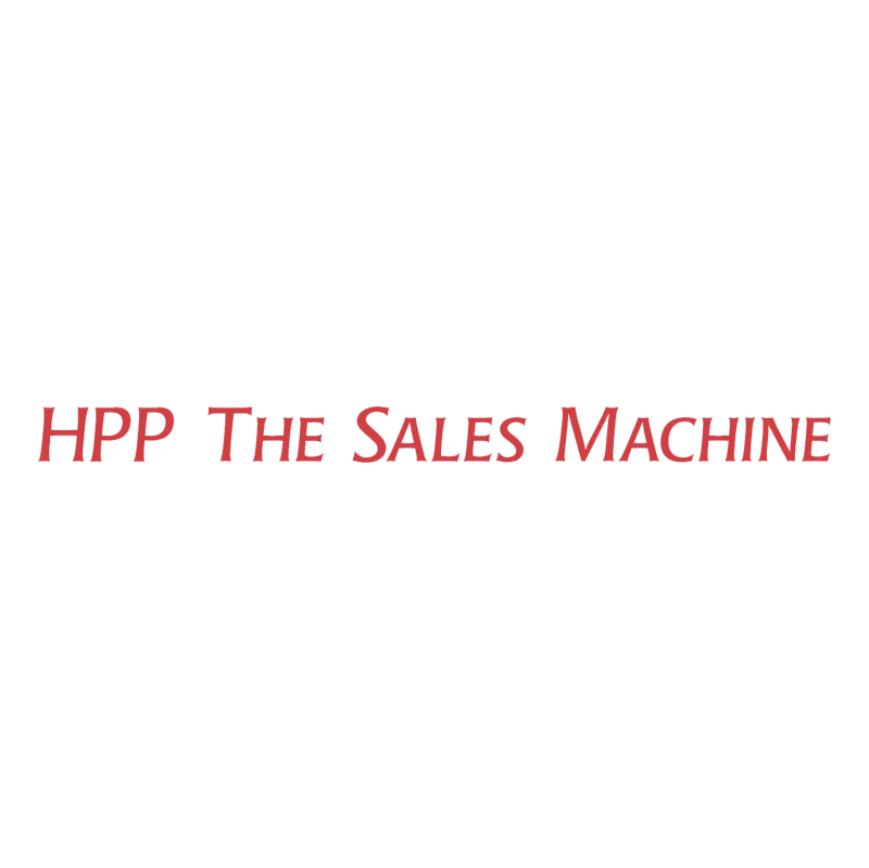 HPP The Sales Machine vector
