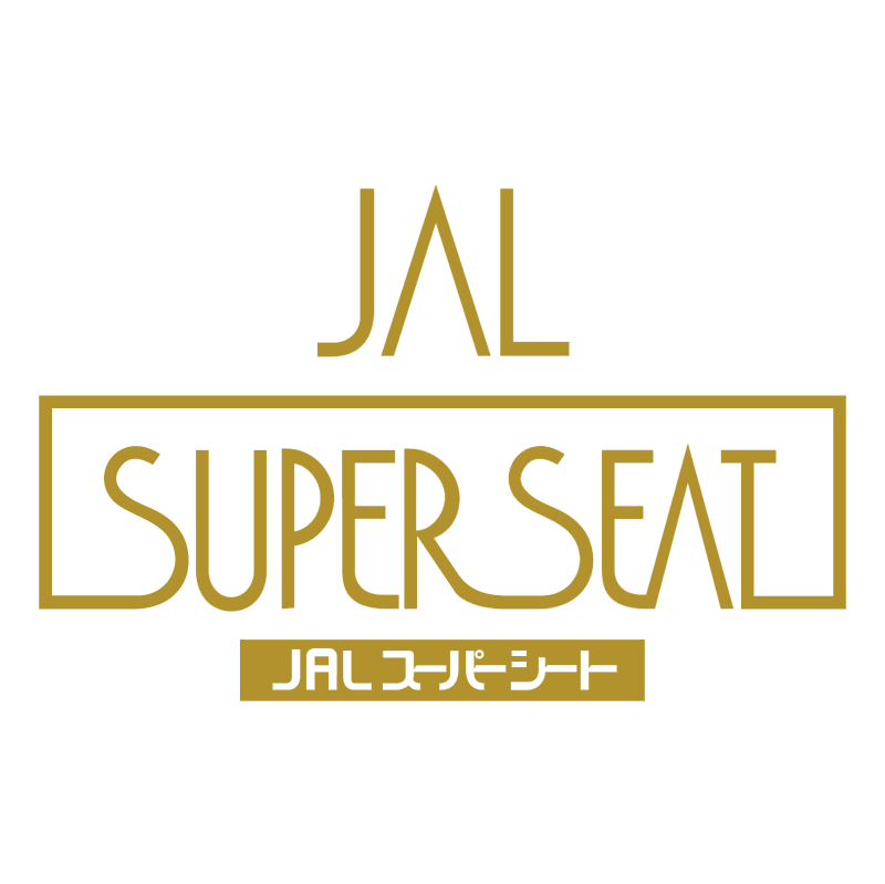 JAL Super Seat vector