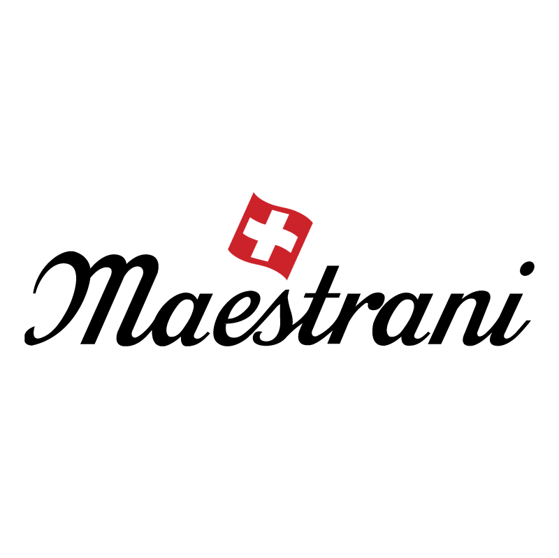 Maestrani Swiss Chocolates vector logo