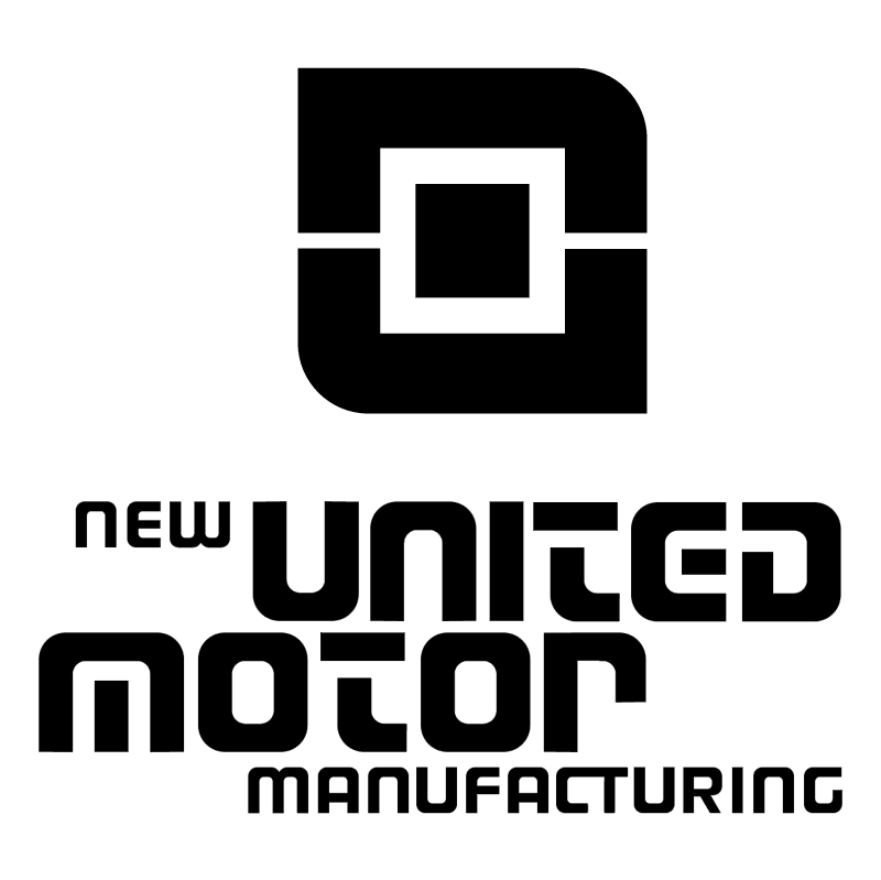 New United Motor Manufacturing vector