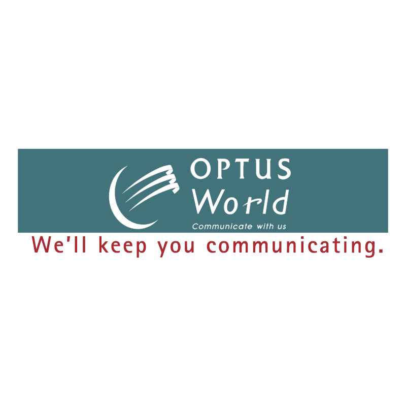 Optus World vector