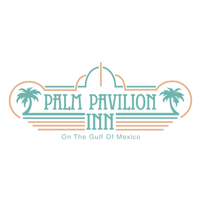 Palm Pavilion Inn vector logo